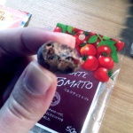chocolate covered dried tomato